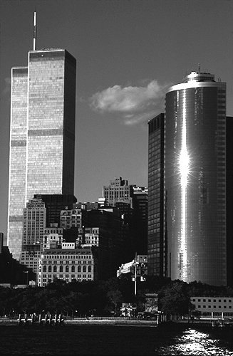 [Twin Towers and 17 State Street - bw_wtc58109916.jpg - 110461 Bytes]