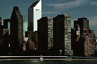 [Citicorp Building with Sailboat]