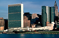 [United Nations and Chrysler Building]