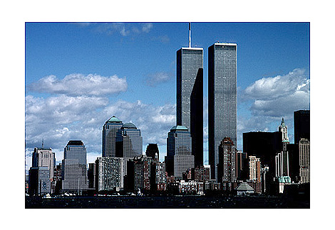 [Twin Towers from Lower New York Harbor - wtc52109924.jpg - 147898 Bytes]