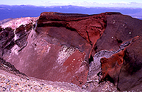 [Tongariro National Park Red Crater]