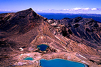 [Emerald Lake and Blue Lake Tongariro]
