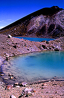 [Emerald Lake and Blue Lake at Tongariro National Park]