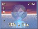 [Ulla's Site Merit Award 2003]